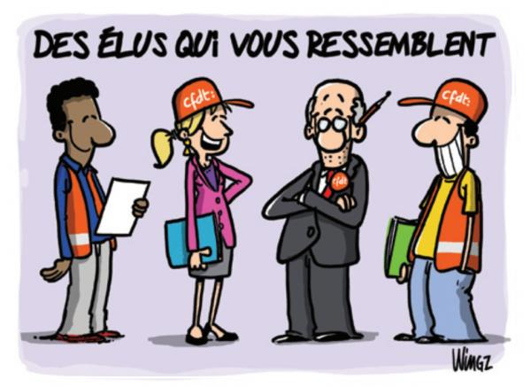 CFDT _Des élus qui vous ressemblent
