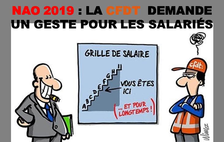 NAO 2019 - Progression salariale
