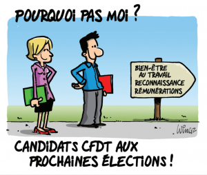 candidats CFDT